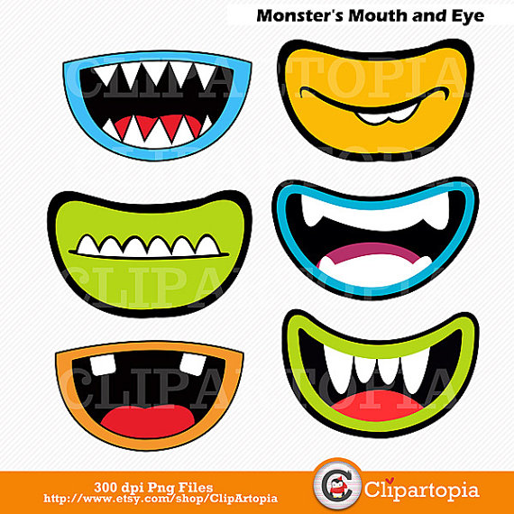 Monster Eyeball Clipart