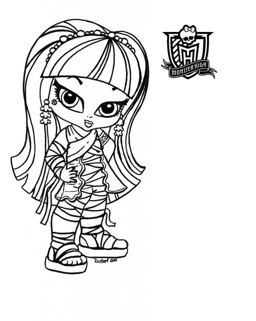 Ausmalbilder Monster High Kostenlos : Monster High Coloring Pages Free Download Best Monster High