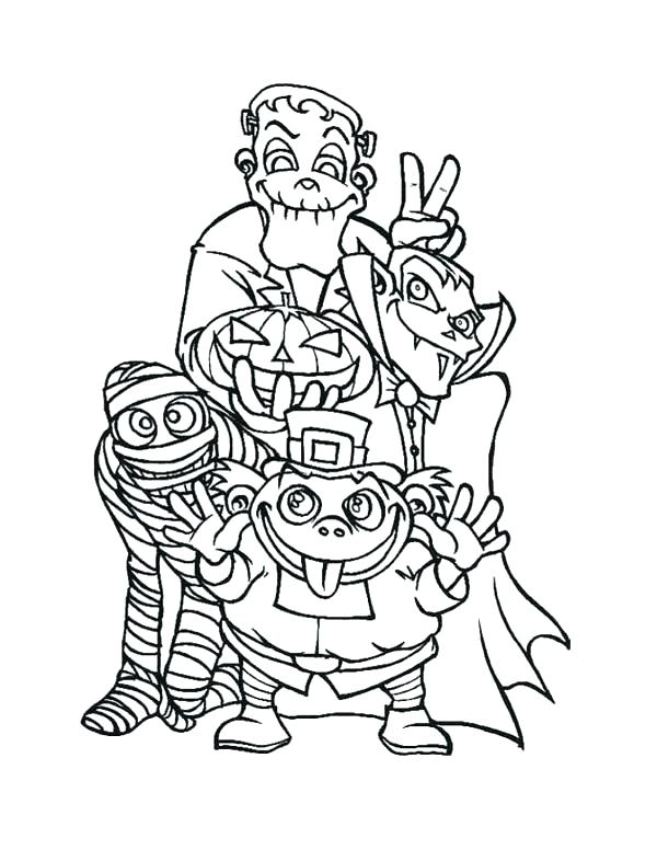 600x776 Monster High Coloring Pages Baby Halloween Werewolf Printable