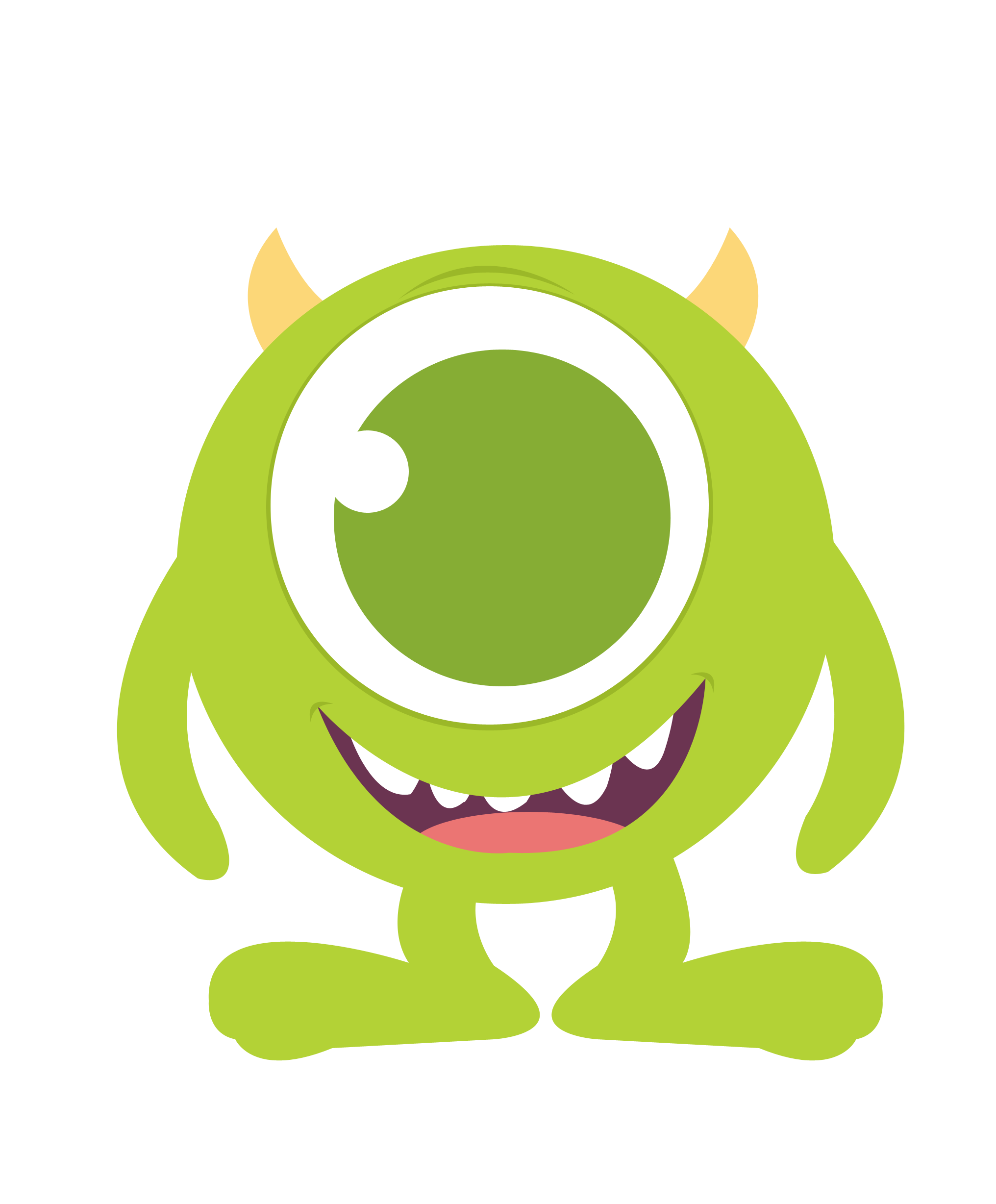 2032x2456 Baby Mike Monster Inc Clipart