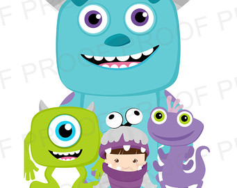Monster Inc Clipart | Free download best Monster Inc Clipart on
