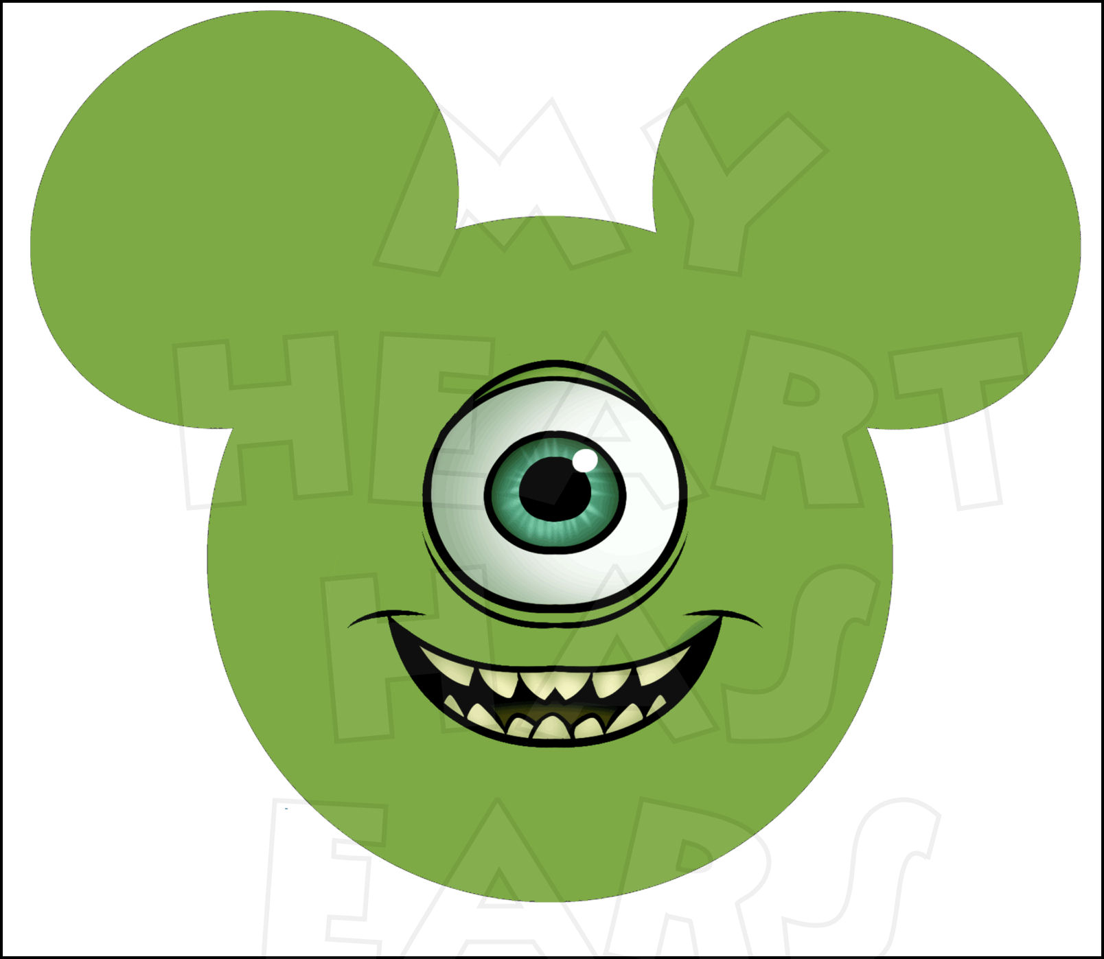 1608x1397 Monsters Inc. My Heart Has Ears