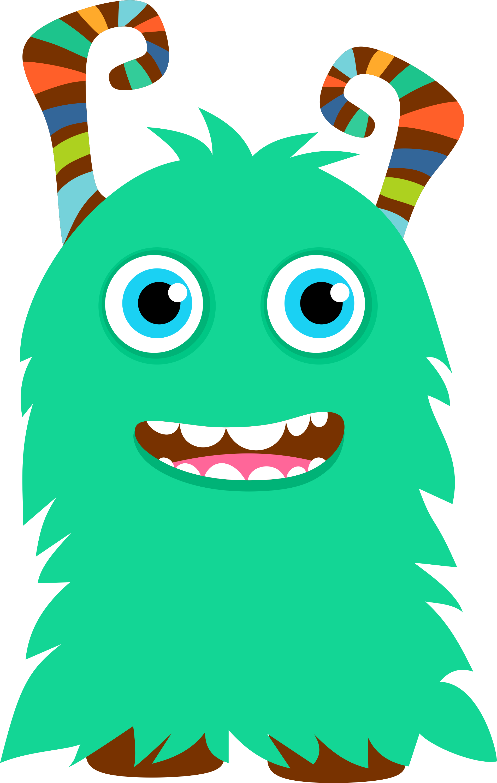 1904x3001 Clip Art Monsters