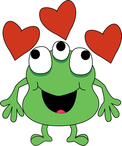 419x500 Clipart Monsters