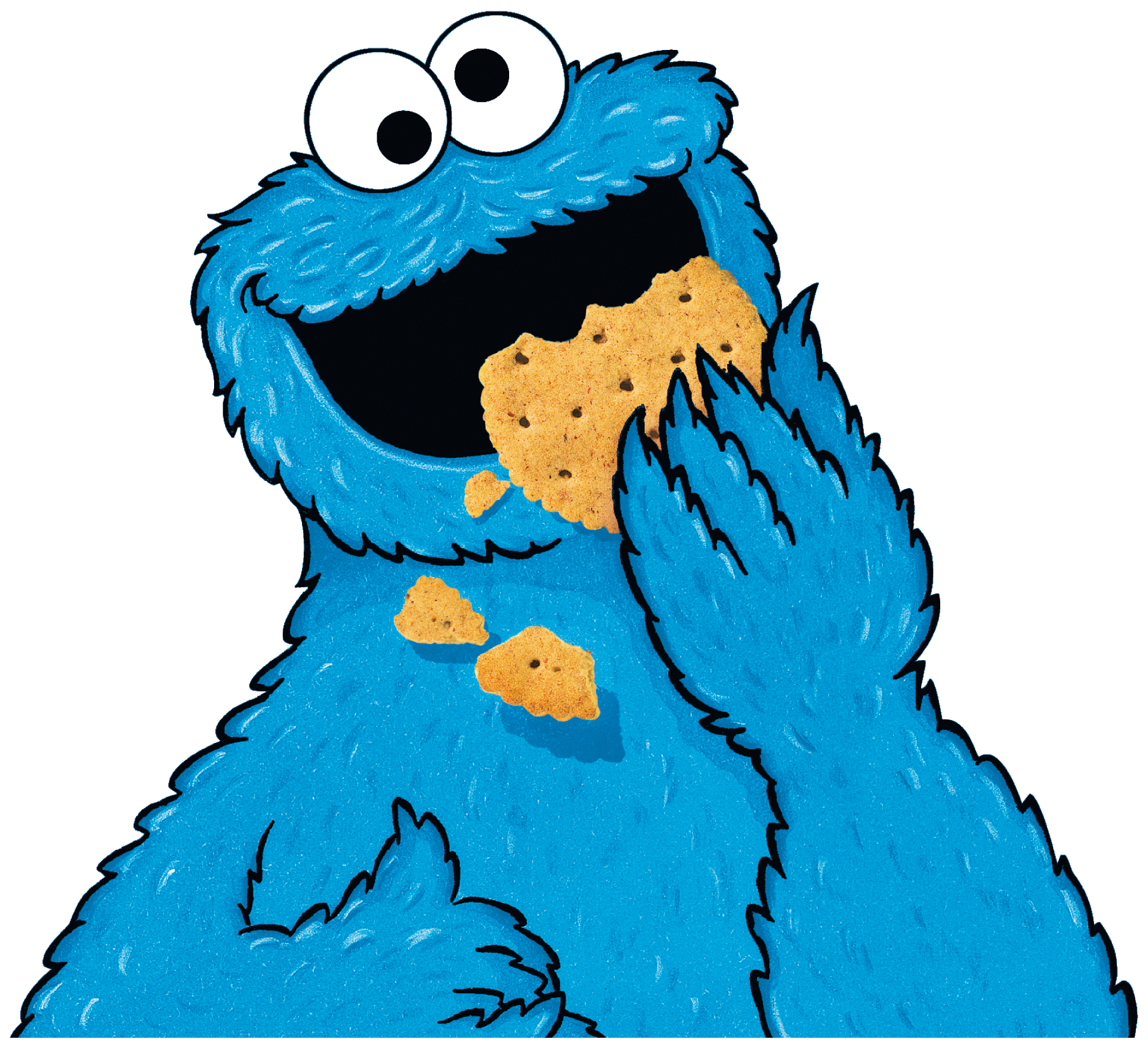 2000x1822 Cookie Monster Animated Clipart