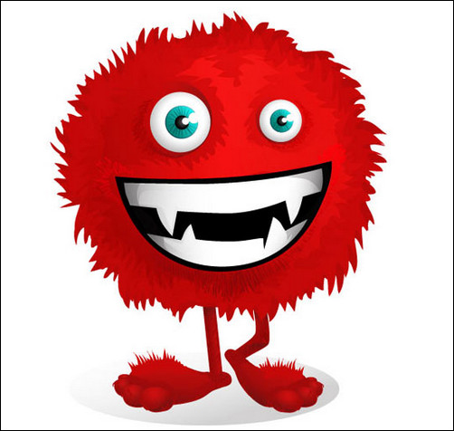 502x476 Funny Monster Clipart 3