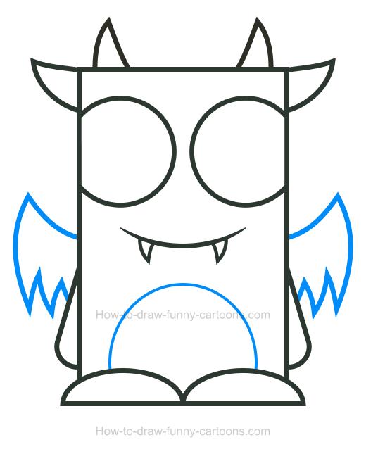 520x645 Monster Clipart