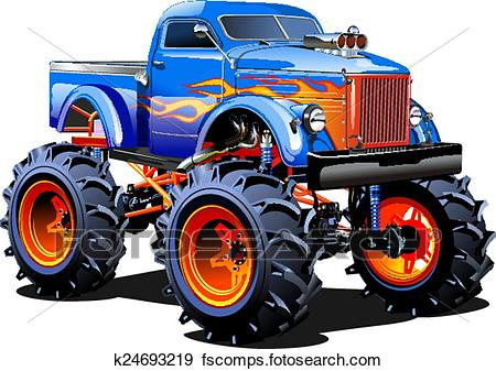 450x337 Monster Truck Clip Art Royalty Free. 311 Monster Truck Clipart