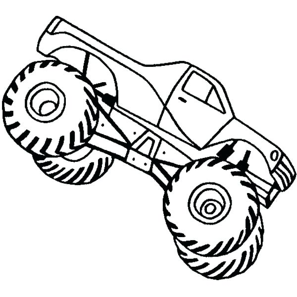 600x600 Monster Truck Pictures Color Monster Truck Coloring Pictures