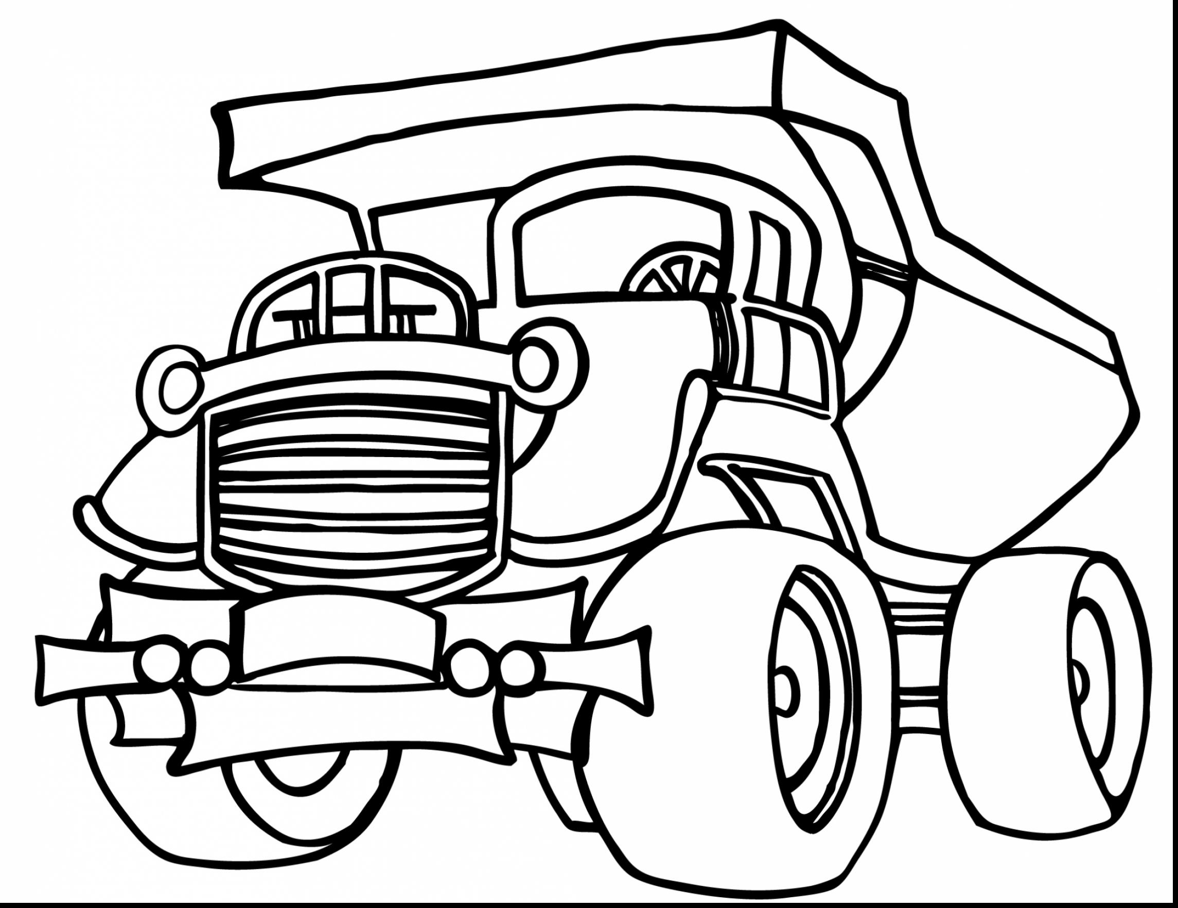 2289x1764 Superb Grave Digger Monster Truck Coloring Pages With Dump Truck