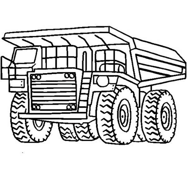 Monster Truck Line Art | Free download best Monster Truck Line Art ...
