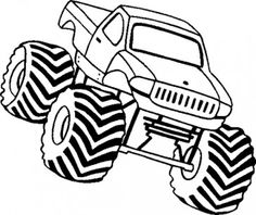 236x198 Design Your Own Monster Truck Color Pages Monster Truck Birthday