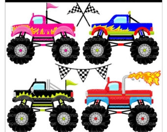340x270 Monster Truck Clip Art