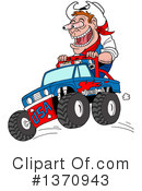130x175 Monster Truck Clipart