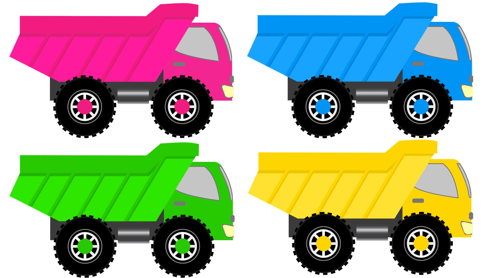 1920x1080 Monster Truck Colors Monster Trucks Learning Colors