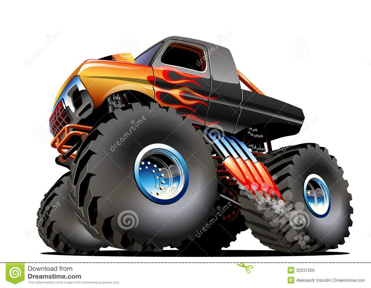 1300x1010 Monster Truck Tire Clipart