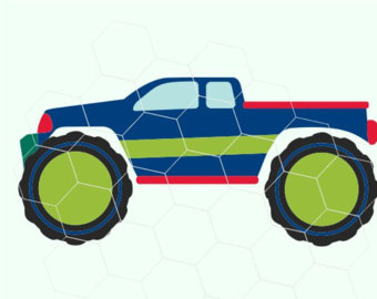 340x270 Monster Truck Cricut Etsy