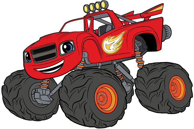 647x430 Blaze And The Monster Machines Clip Art Images