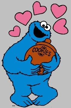 236x357 Cookie Monster Clip Art