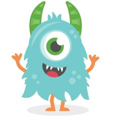 236x236 Cute Monster Clipart