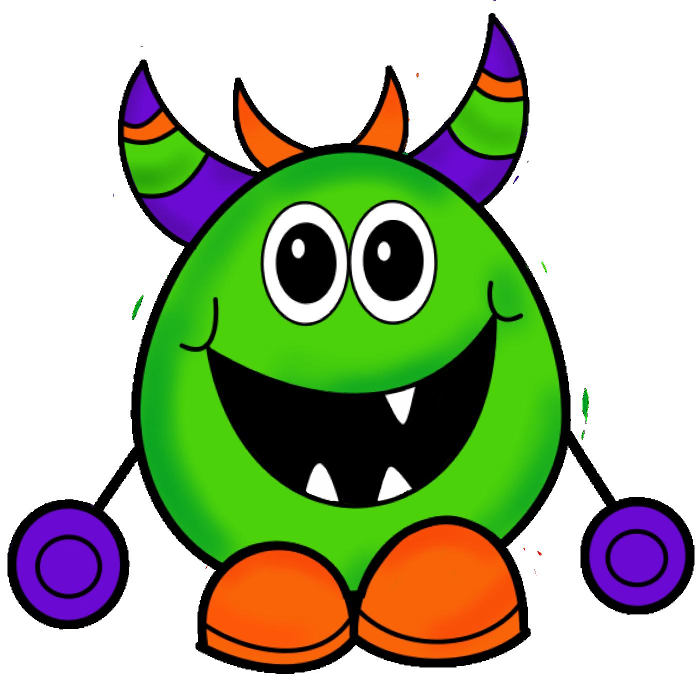 1400x1361 Monsters Clip Art