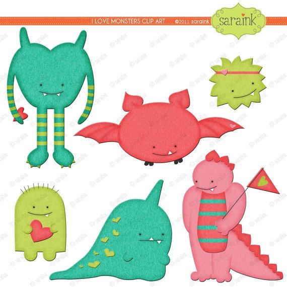 570x570 24 Best Monsters Robots And Alien Clip Art Images