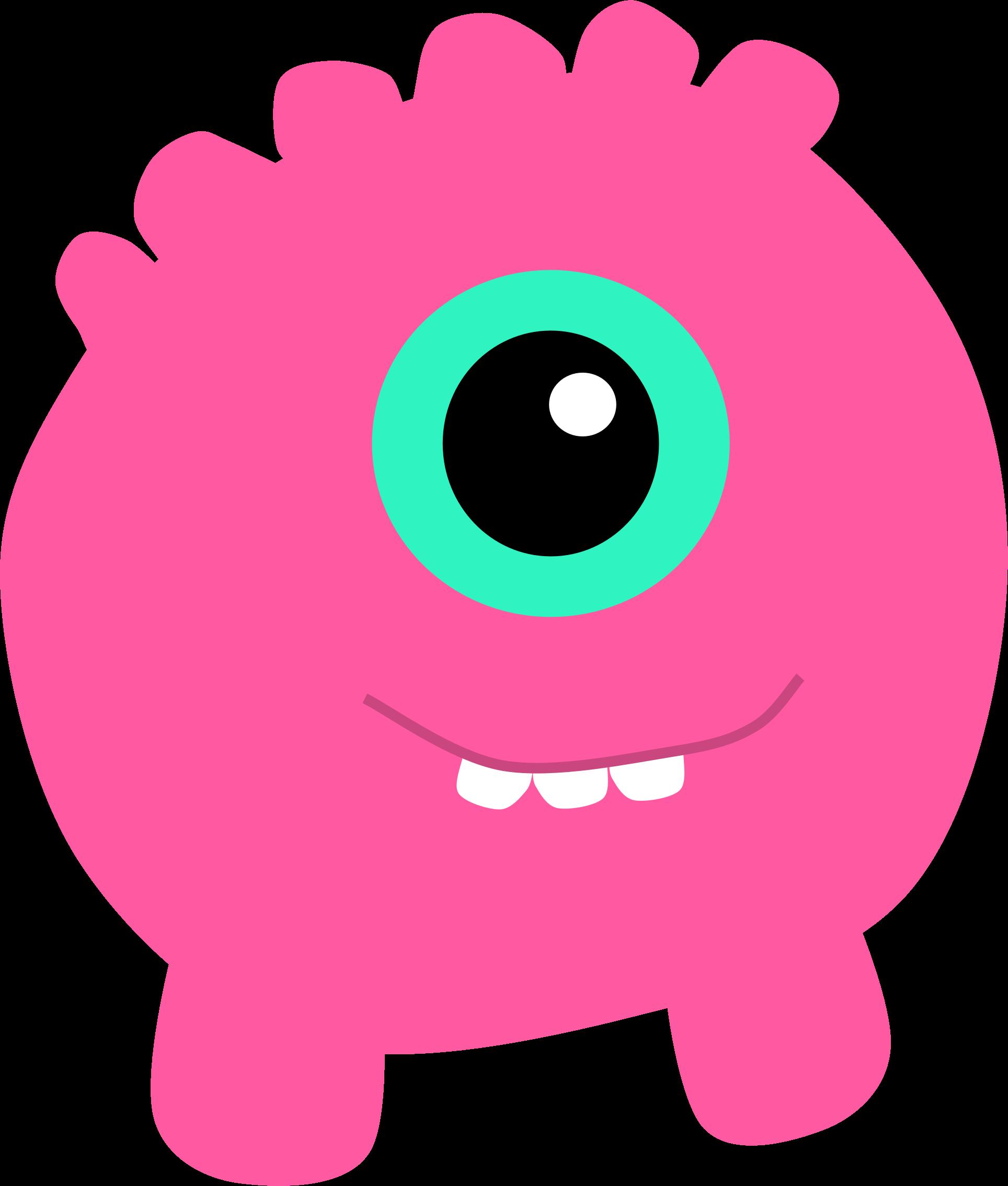 1928x2269 Cute Clipart Monster