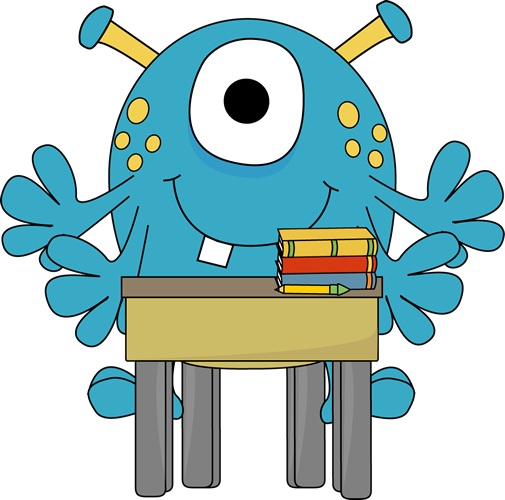 505x500 Cartoon Monster Clipart