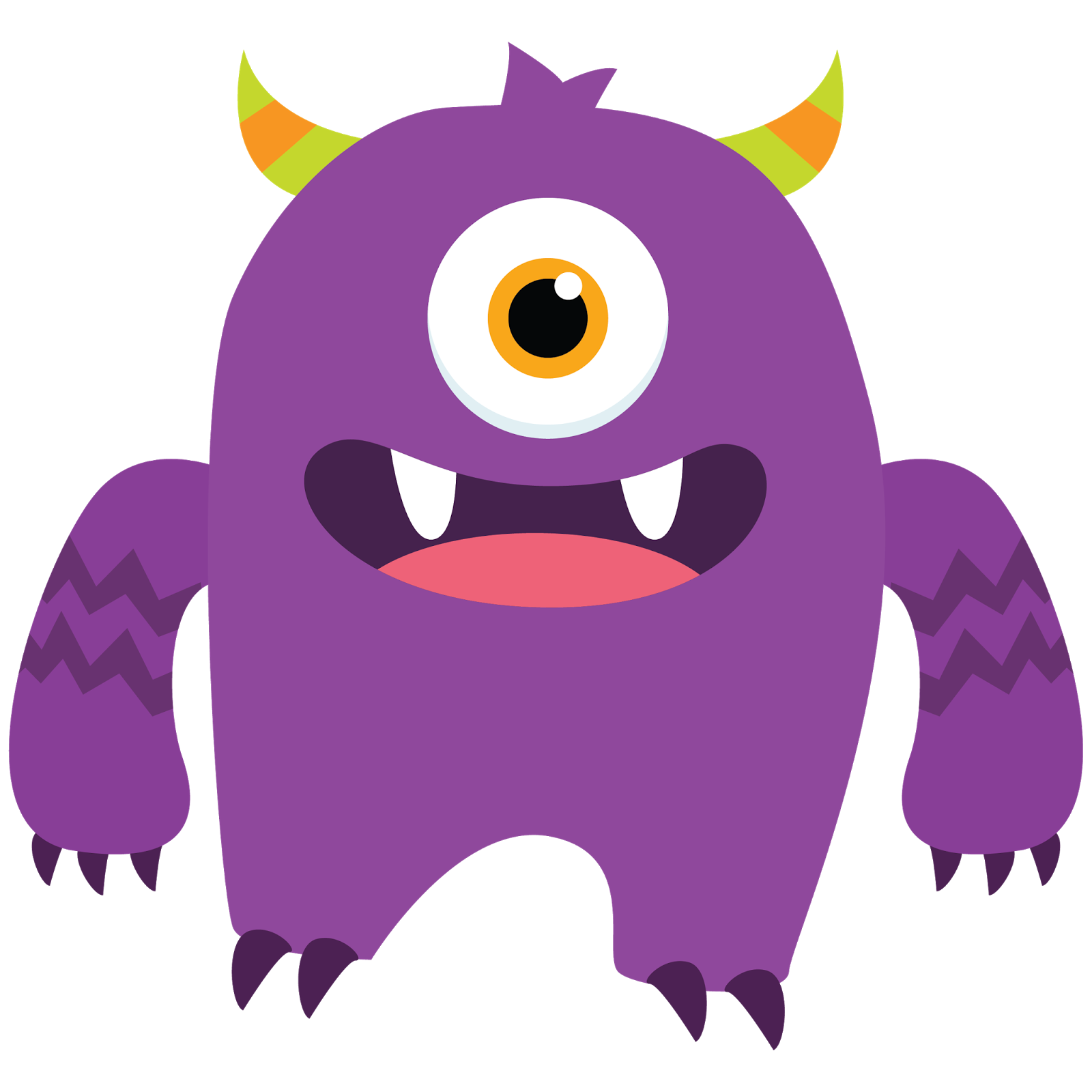 1600x1600 Cute Monster Clipart Many Interesting Cliparts