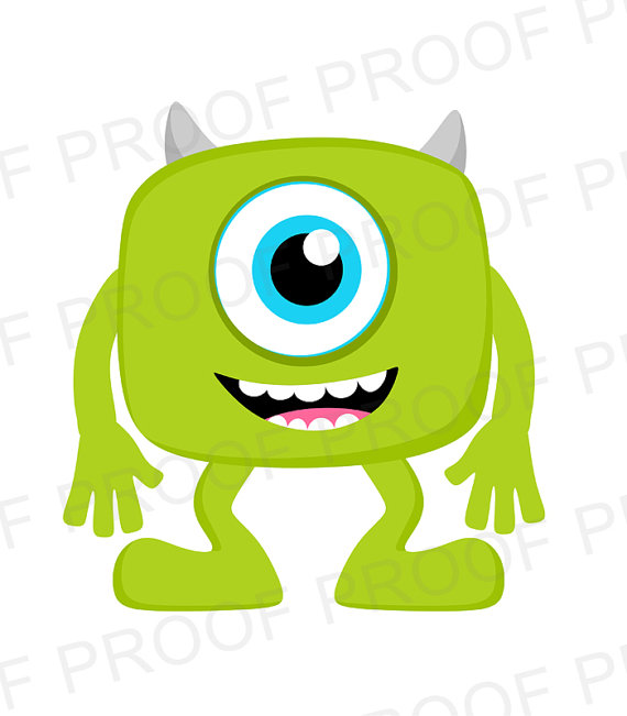 570x651 Instant Download Monsters Inc. Printable By Barefootandgiggle