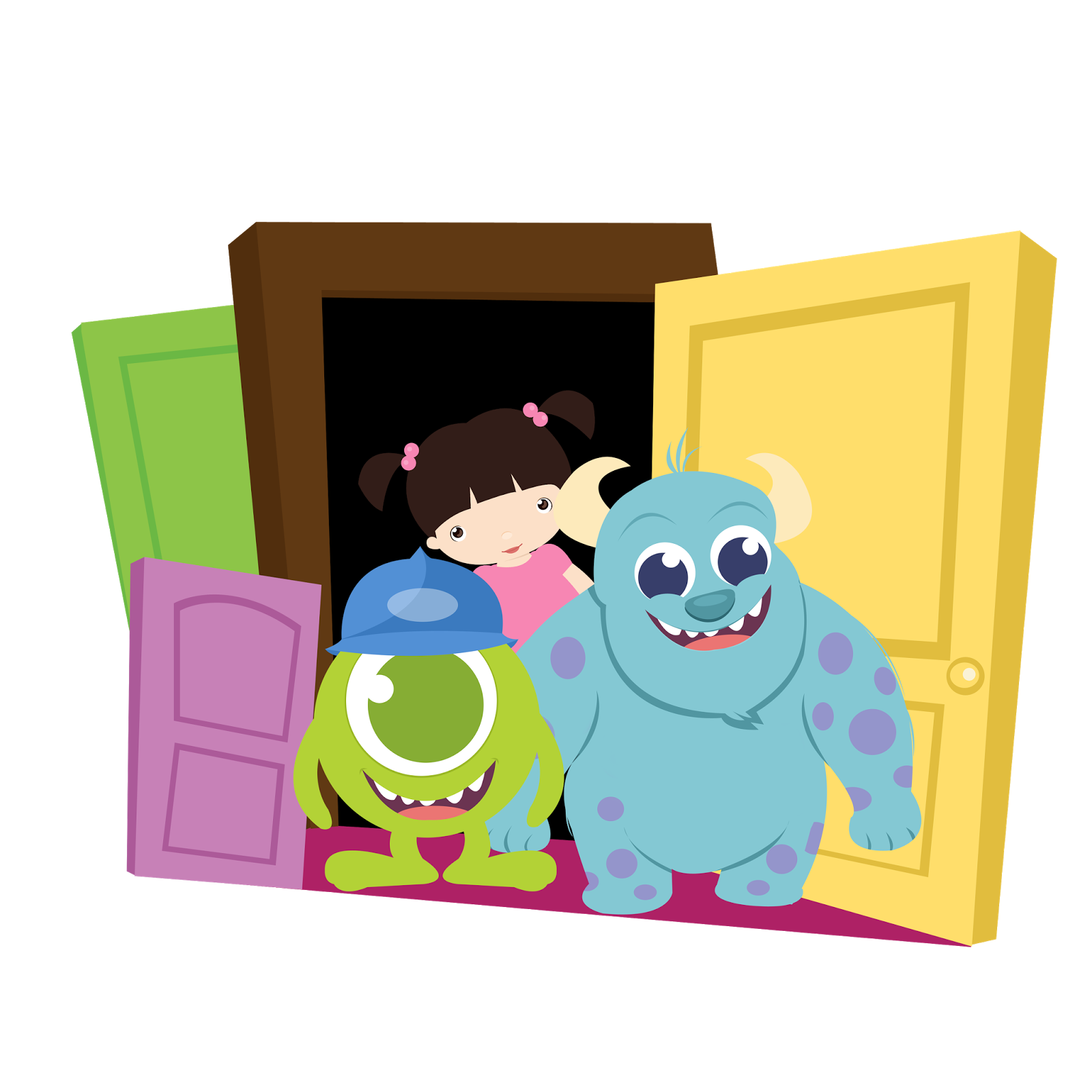 1600x1600 Monster Inc. Babies Clip Art. Free Printables Clip