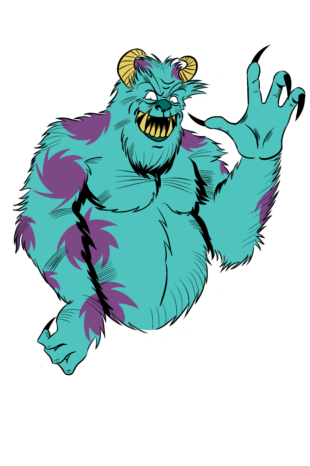 1000x1500 Monsters Inc Sully By Owenoak95
