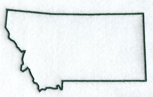 490x313 Montana Clipart Montana Outline