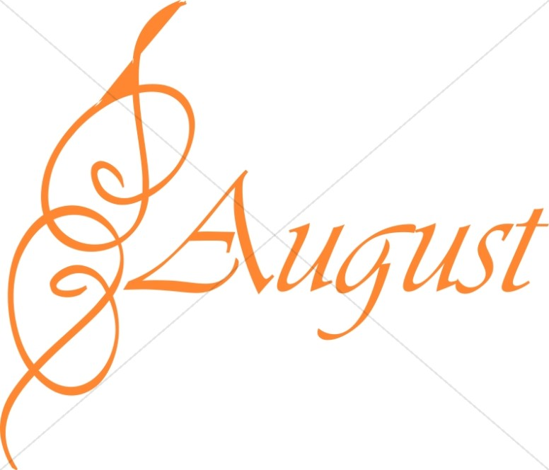 776x664 Christian Month Of August Clipart