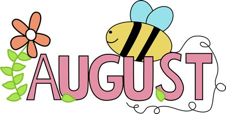 450x227 Free month clip art of august summer image the
