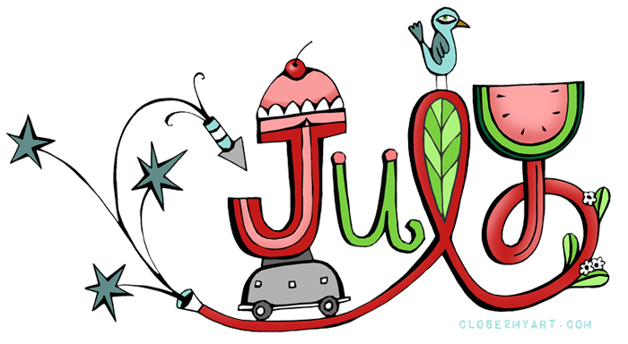 700x384 Month Of July Clipart