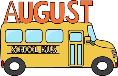 400x257 August School Bus Clip Art