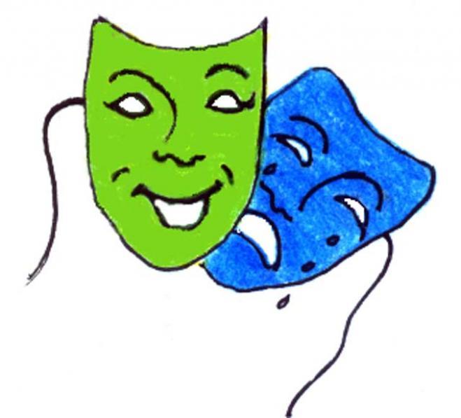 659x597 Free Clip Art Drama Masks Clipart