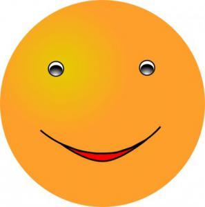 297x300 Smiley Mood Sad Yellow Clip Art Download