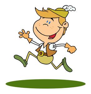 292x300 Boy Cartoon Clipart Image