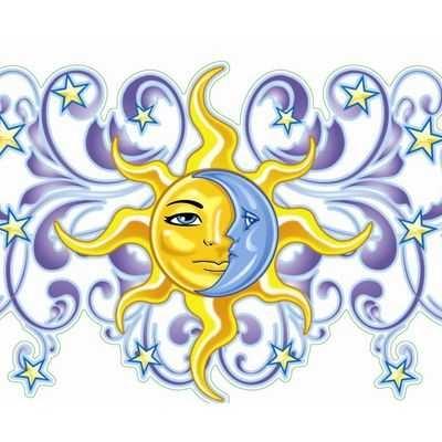 400x400 290 Best Clip Art~sun, Moon, Stars, Clouds Amp Printables Images
