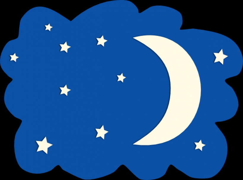 820x610 Moon And Stars Clip Art