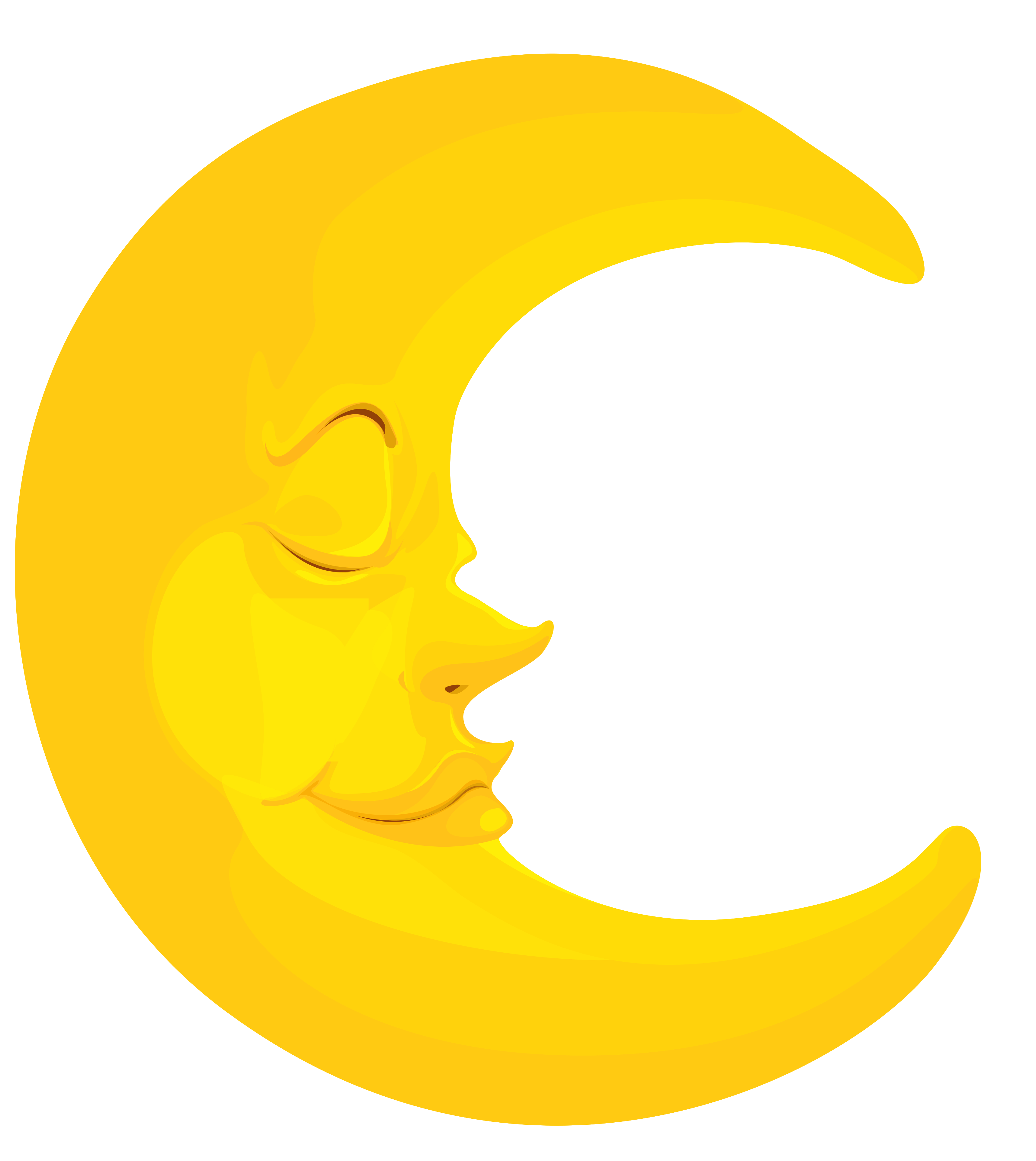3431x3845 Black Stars And Moon Clipart