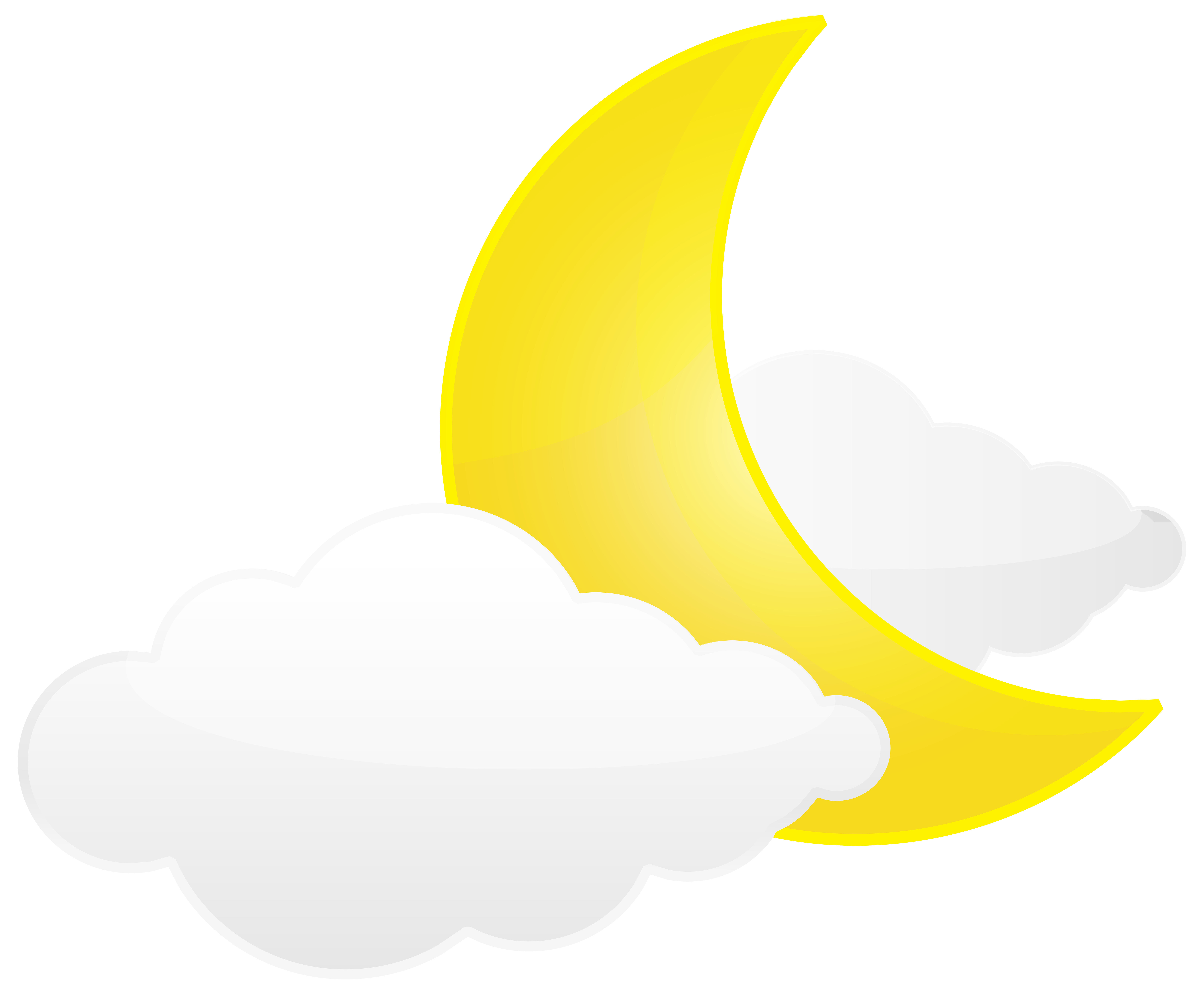 8000x6604 Moon With Clouds Png Transparent Clip Art Imageu200b Gallery