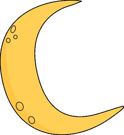 400x436 Crescent Moon Clip Art Image Clipart Panda