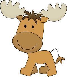 236x271 Moose Clipart Adorable