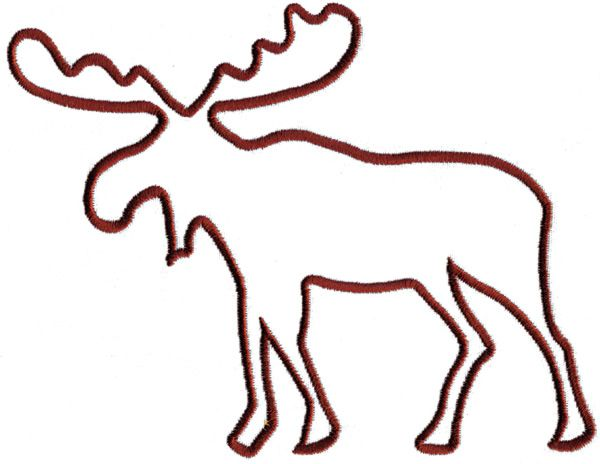 600x464 Best Moose Clipart Ideas Moose Silhouette, Bear