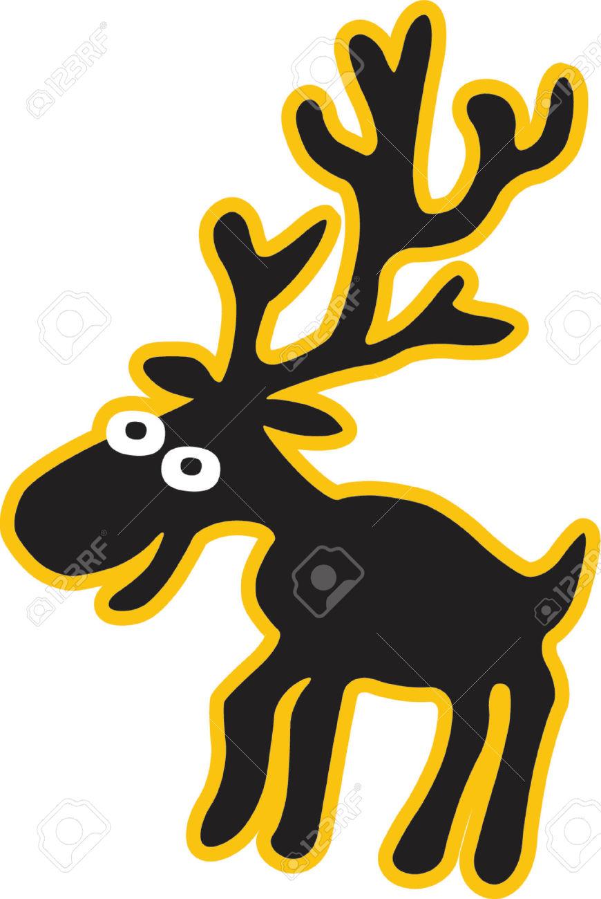 870x1300 Top 75 Moose Clip Art