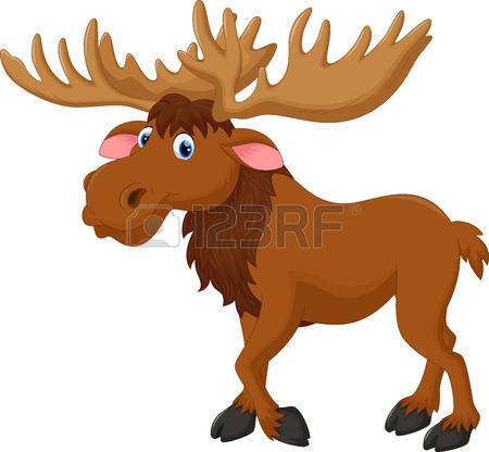 450x416 Moose Clip Art