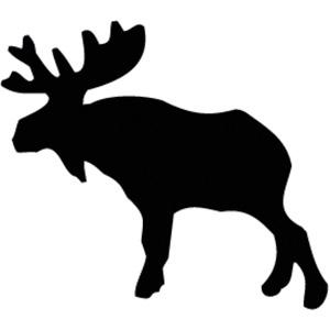 300x300 Moose Clip Art